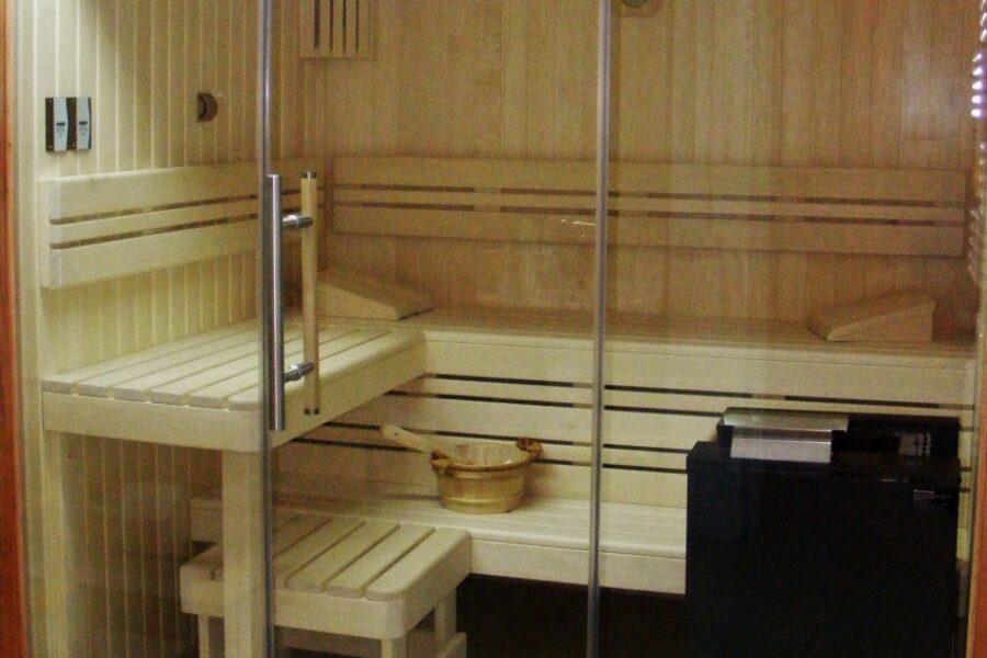 Piękna sauna bez kompromisów.