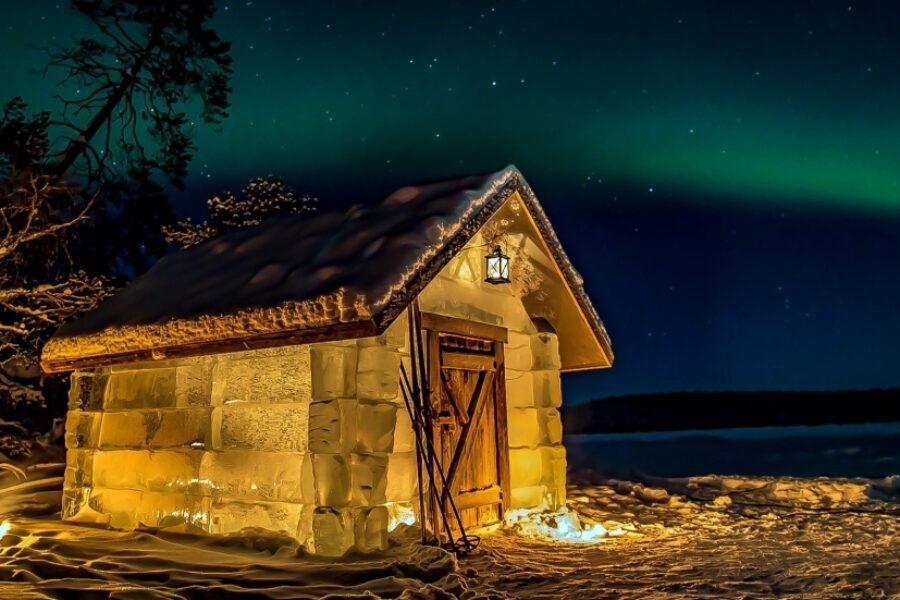 Niezwykła sauna lodowa