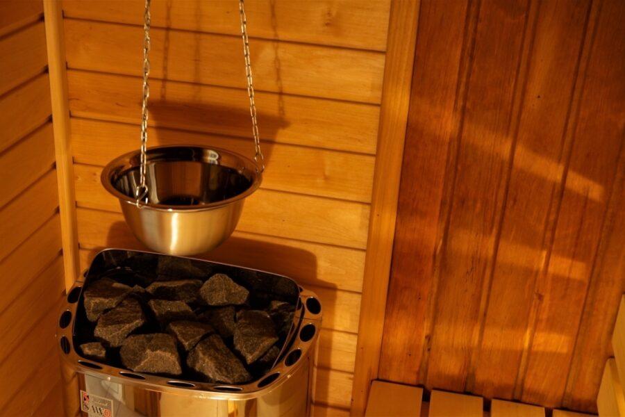 Sauna w hotelu w Olsztynie