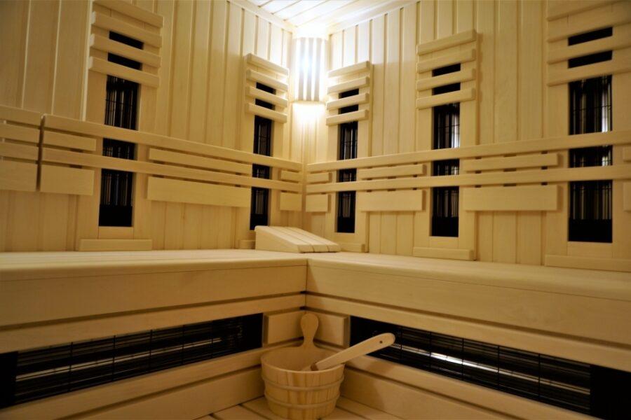 Sauna na podczerwień – infra sauna.