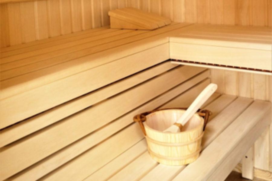 Doskonały piec do sauny.