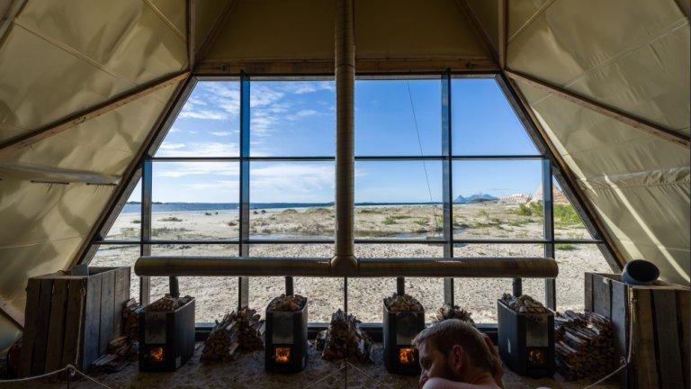 Najwieksza sauna na świecie